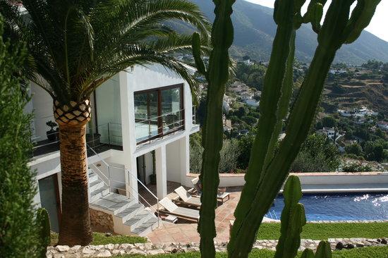 Casa Ventura: uitzicht mijas