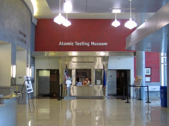 The National Atomic Testing Museum: Eingang