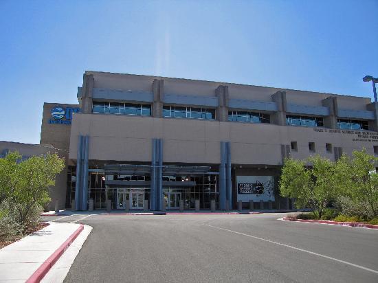 The National Atomic Testing Museum: Frontseite mit Eingang