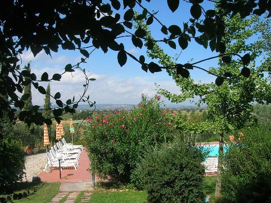 B&B Il Greppo: view from the bedroom