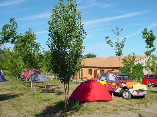 Camping Aín Jaca: 2 CV d alado