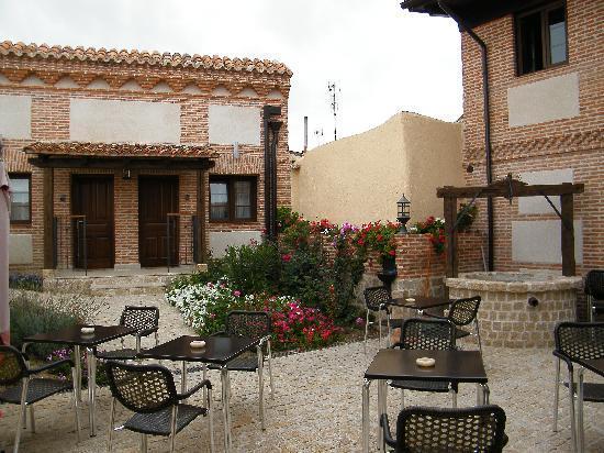 Hostería del Mudéjar: Terraza del Hotel