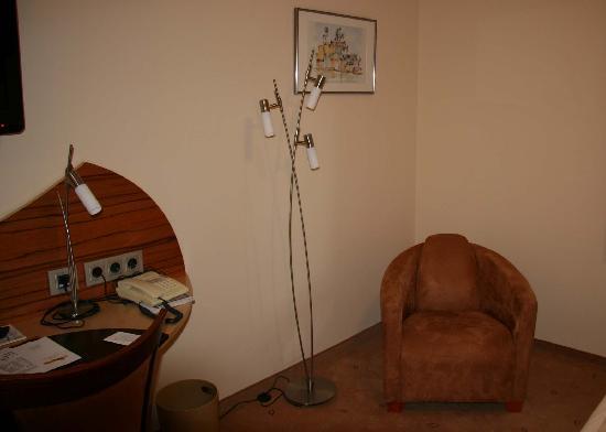 Hotel Spitzberg: The room