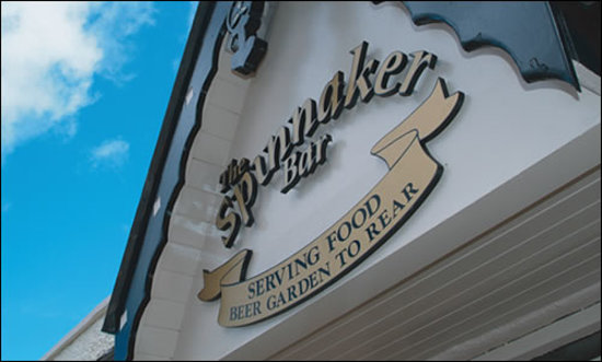 The Spinnaker Cafe Bar & Restaurant: The Spinnaker Bar and Restaurant
