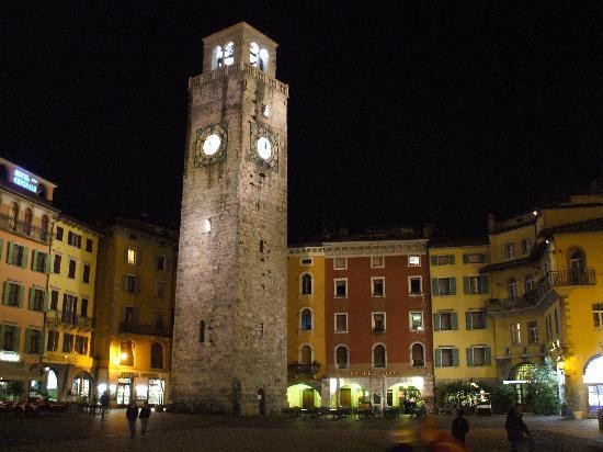 Hotel Portici Romantik & Wellness: clock tower Rive