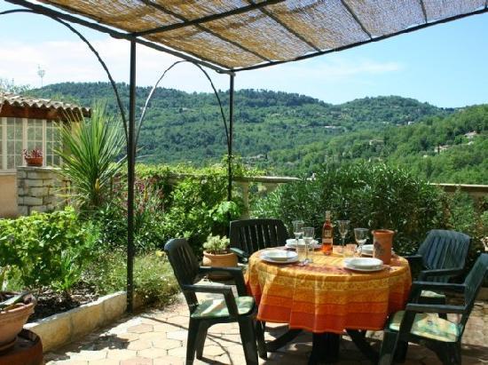 La Bastide Saint Christophe : Upper Garden Apartment terrace