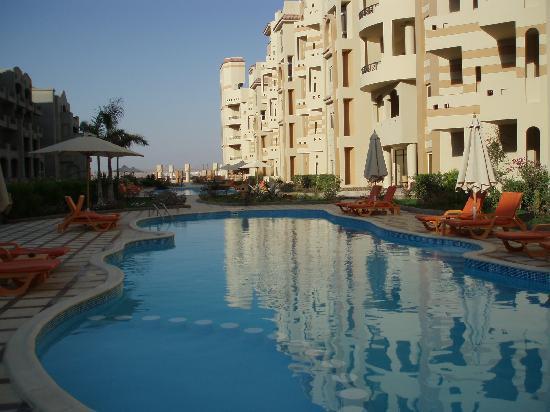 El Andalous Apartments : El Andalous pool and gardens