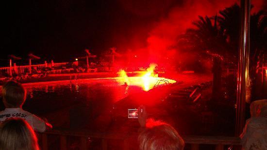 CLUB CALIMERA Delfin Playa: Das ende eines schönen Abend