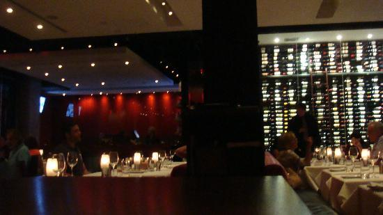 Red The Steakhouse South Beach Restaurant With Wine Cellar