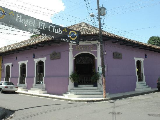 Hotel El Club: Entrance