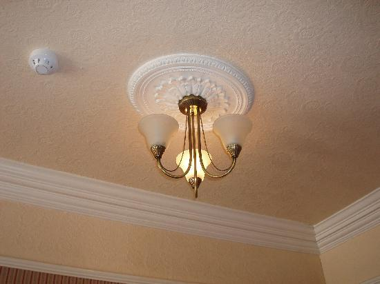 The Grosvenor Hotel : Lightbulb shortage (or energy saving??)