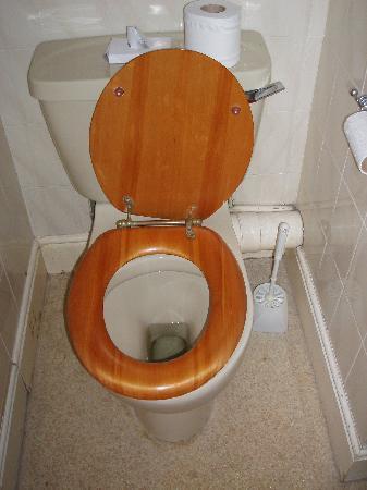 The Grosvenor Hotel : Dangerously loose loo seat