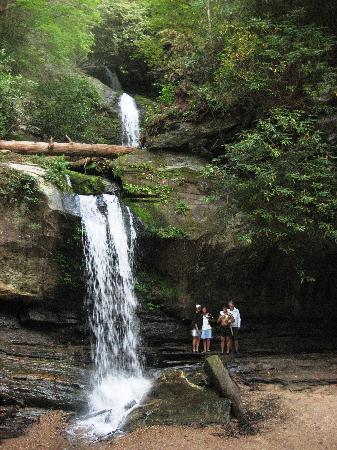 Carolina del Sur: Triple falls-Lake Jocassee