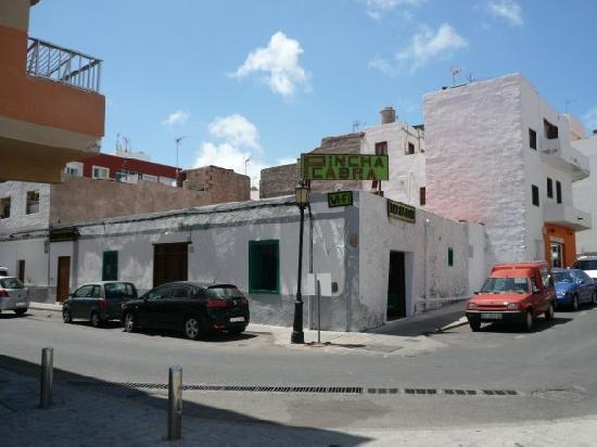 Corralejo, Spanien: pincha cabra