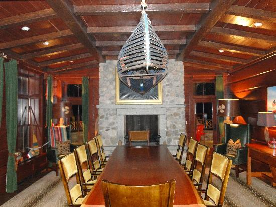 Lake Placid Lodge: private dining room