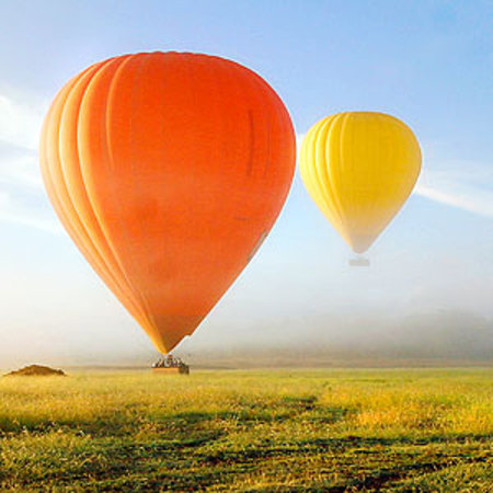 Hot Air Balloon Port Douglas: hot air balloon west of the great barrier reef