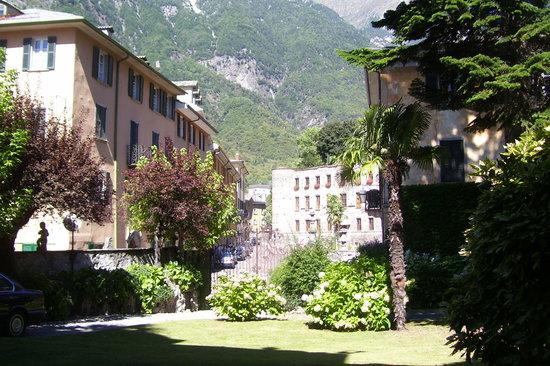 Palazzo Salis: Im Park