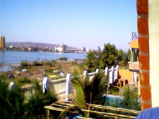 Villa Soudan: Blick vom 1. Stock auf Niger