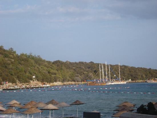 VClub Valtur: veduta spiaggia