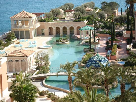 Monte-Carlo Bay & Resort: View from our room