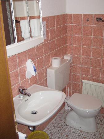 Johannesbad Rehakliniken: Badezimmer