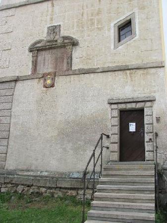 Church of St. Lawrence (Sv. Vavrince) : sidedoor