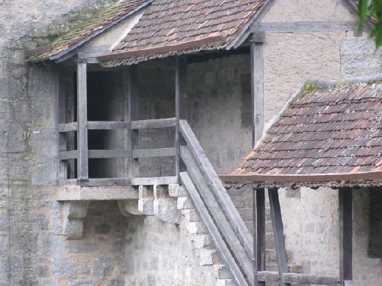 Town Walls: detail Stoberleinsturm