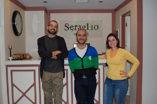 Hotel Seraglio: Thank you Celal. You are a great person. We miss you!