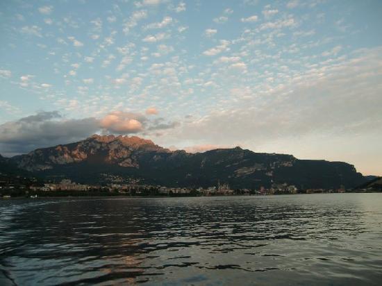 Lago di Lecco - tramonto al matrimonio