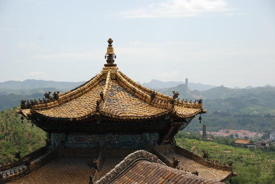 Little Putuo Temple: Blick auf den Hammerberg