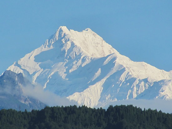 View of Mt. Kanchendzonga