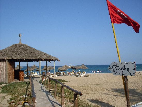L'Ecrin Sandra Club: Spiaggia Hotel Sandra Club