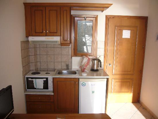 Hotel Horizon: kitchenette in room