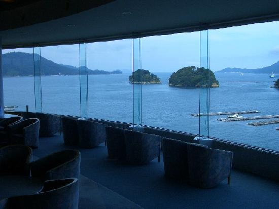 Toba Grand Hotel: フロントからの景色です