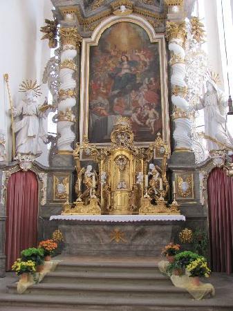 Pilgrimage Church of the Assumption (Wallfahrtskirche Maria Himmelfahrt ): main altar