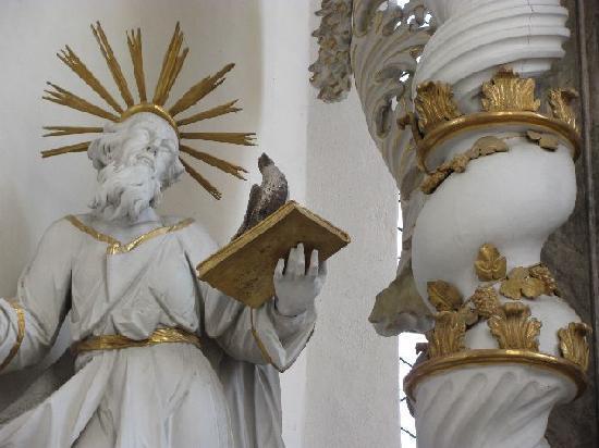 Pilgrimage Church of the Assumption (Wallfahrtskirche Maria Himmelfahrt ): detail