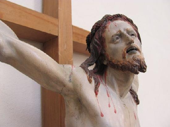 Pilgrimage Church of the Assumption (Wallfahrtskirche Maria Himmelfahrt ): crusifix