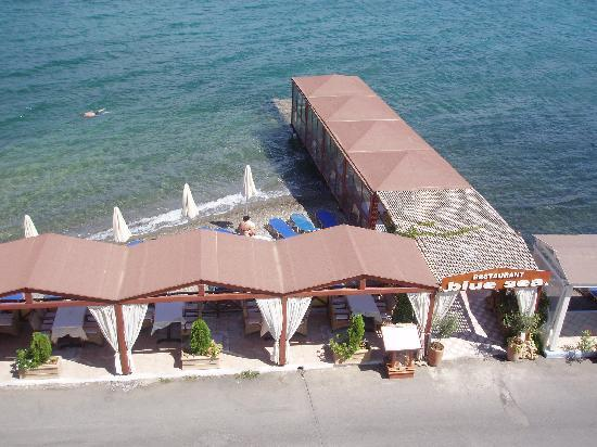 Akti Olous Hotel: Blue Sea restaurant at the hotel
