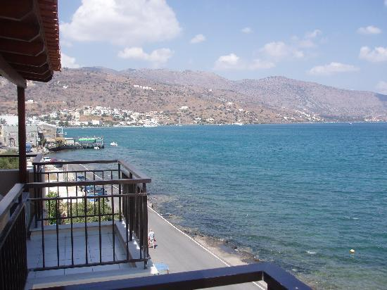 Akti Olous Hotel: View from the front rooms at the hotel