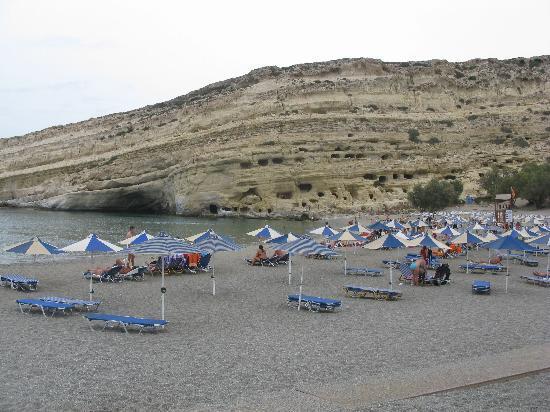 Agapi Beach Hotel: MATALA