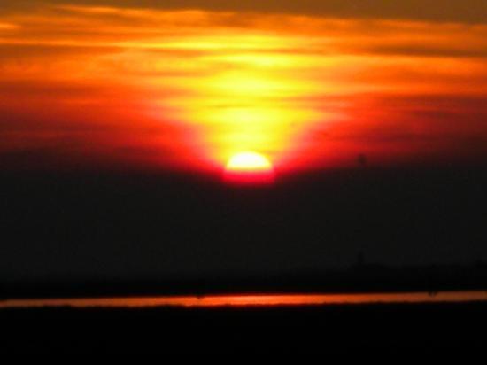 Antica Dogana: Sonnenuntergang