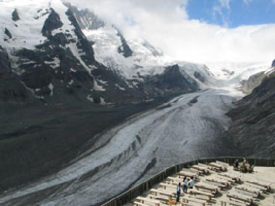 Tirol, Austria: Grossglockner - the PASTERZE Glacier