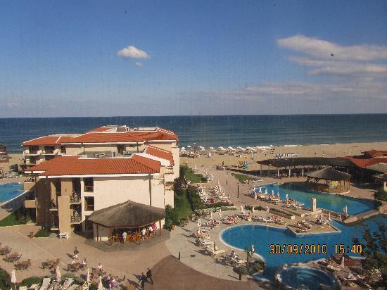 Club Hotel Miramar: Bick vom Fahrsuhl auf die Anlage