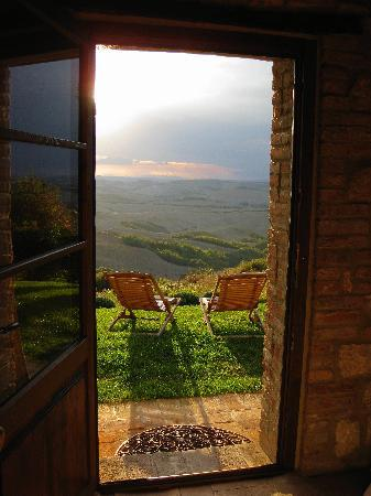 Podere Finerri: View from the bedroom