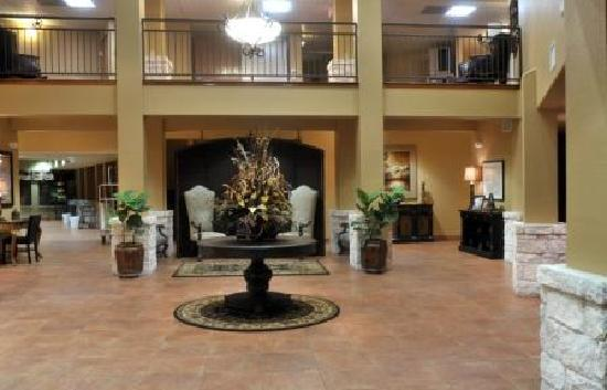 Lobby at the Inn on Barons Creek