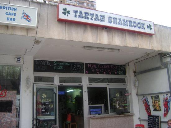 Helen's Tartan Shamrock : THE TARTAN SHAMROCK