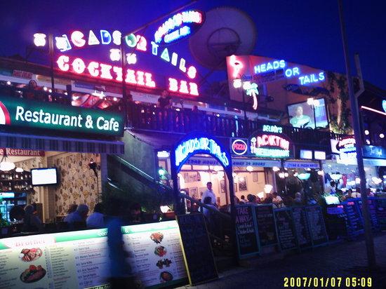 Elif's Cafe : Ovacik at night