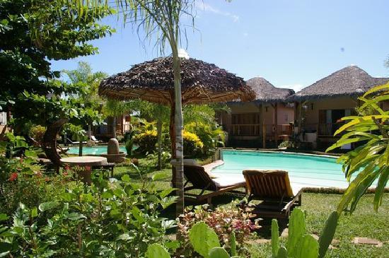 Hotel Le Zahir Lodge Nosy Be: fleurs_piscine_hotel_lezahir_lodge