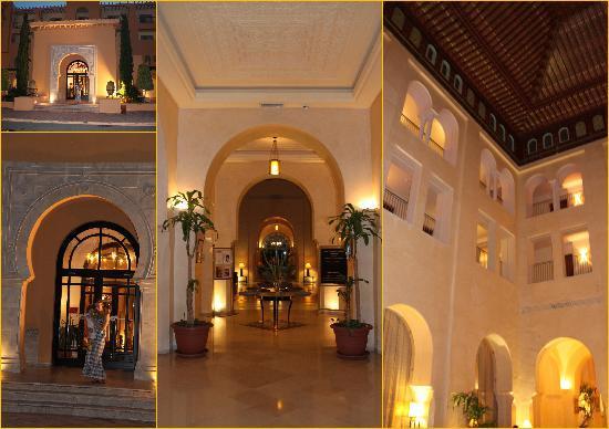 Int rieur de l 39 h tel picture of alhambra thalasso hotel for Hotel interieur