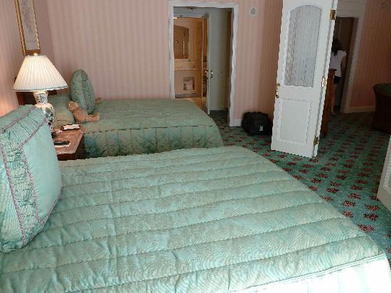 Grand America Hotel : Vue de la chambre